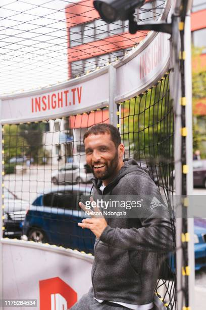 """Kevin Kuranyi attends the launch event for Insight TV's new show """"Streetkings in Jail"""" on September 17, 2019 in Munich, Germany."""