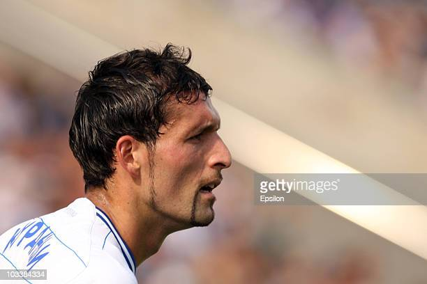 Kevin Kuranyi of FC Dinamo Moscow looks on during the Russian Football League Championship match between FC Zenit St Petersburg and FC Dinamo Moscow...