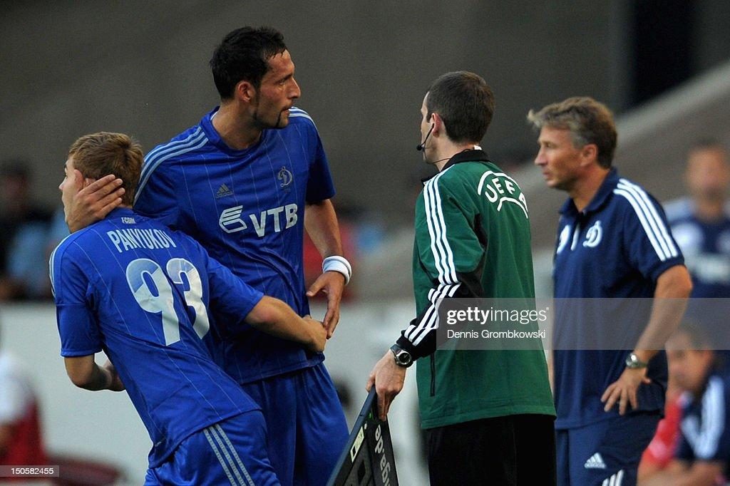 VfB Stuttgart v FC Dynamo Moscow - UEFA Europa League Play-Off : News Photo