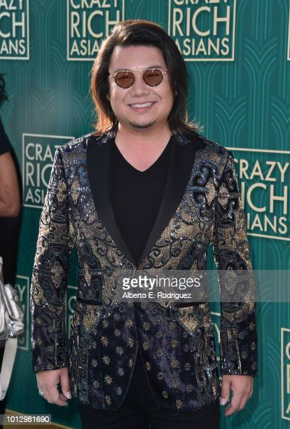 """Kevin Kwan attends the premiere of Warner Bros. Pictures' """"Crazy Rich Asiaans"""" at TCL Chinese Theatre IMAX on August 7, 2018 in Hollywood, California."""