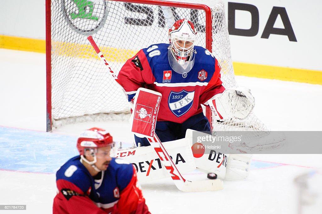 IFK Helsinki v Linkoping HC - Champions Hockey League : News Photo