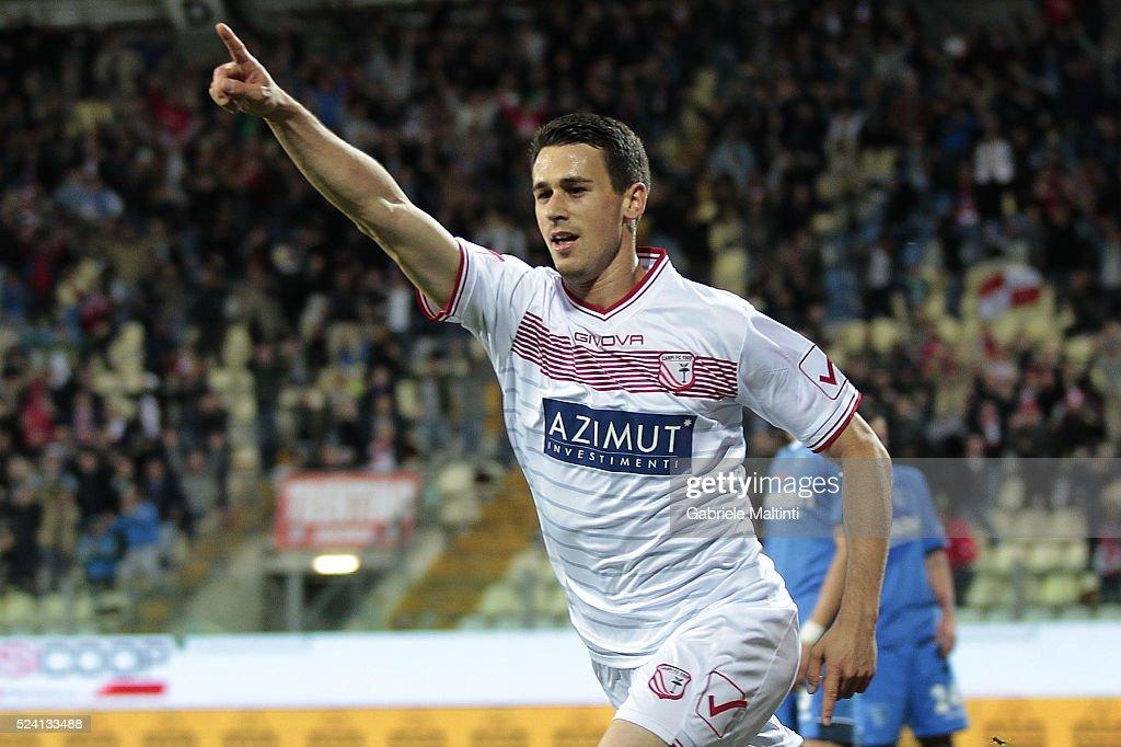 Carpi FC v Empoli FC - Serie A : ニュース写真
