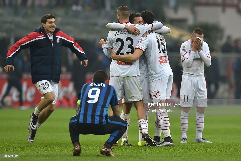 FC Internazionale Milano v Carpi FC - Serie A : ニュース写真