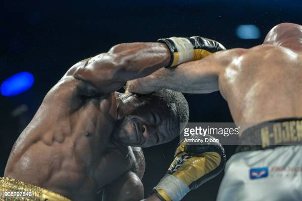 Kevin Lele Sadjo during the Main Event 5 in Salle Marcel Cerdan on January 19 2018 in Paris France