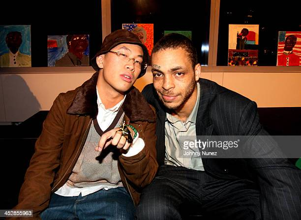 Kevin Leong and Jamel Simmons during Rush East New York Celebration Hosted By Russell Simmons at Time Warner Center in New York City New York United...