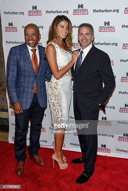 Kevin Liles Ana Laspetkovski and event honoree David Weinreb attend the Boys Girls Harbor 2015 Salute to Achievement at The Plaza Hotel on May 6 2015...