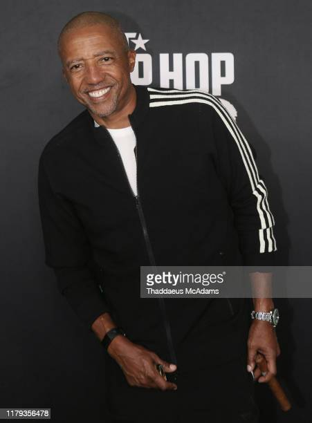 Kevin Liles arrives to the 2019 BET Hip Hop Awards on October 05 2019 in Atlanta Georgia