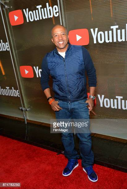 Kevin Liles at YouTube Musica sin fronteras A Celebration of Latin Music at Jewel Nightclub at the Aria Resort Casino on November 15 2017 in Las...