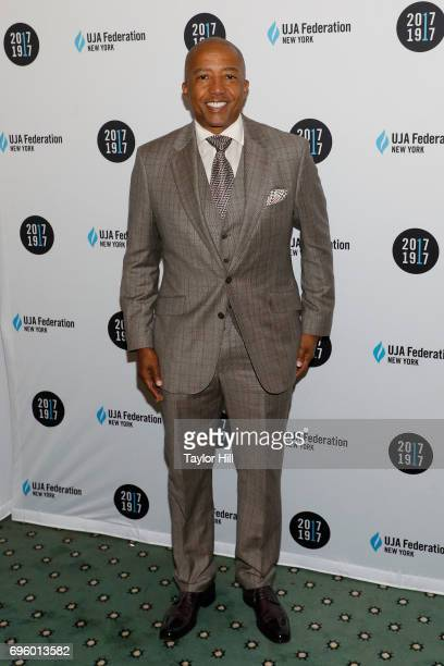 Kevin Liles attends the United Jewish Appeal Federation Of New York's 2017 Music Visionary Of The Year Award Luncheon at The Pierre Hotel on June 14...