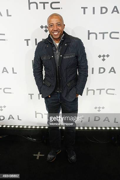 Kevin Liles attends TIDAL X 1020 at Barclays Center on October 20 2015 in the Brooklyn borough of New York City