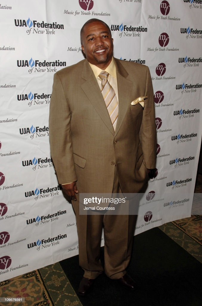 Kevin Liles during 2005 UJA Music Visionary of the Year Awards - Arrivals at The Pierre Hotel Ballroom in New York City, New York, United States.