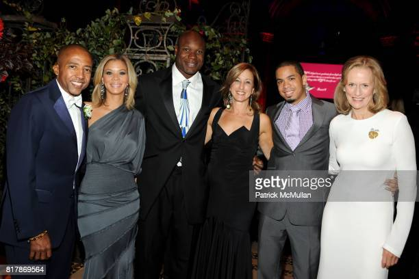Kevin Liles Erika Jones Keith Bulluck Susan Magazine Anthony and Susan Burden attend 2010 New Yorkers For Children Fall Gala presented by CIRCA at...