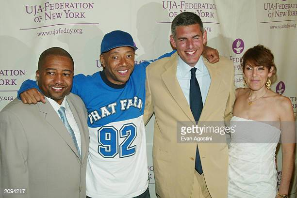 Kevin Liles President Def Jam Music Group Russell Simmons Chairman and CEO RUSH Communications Lyor Cohen CEO Island Def Jam Music Group and Julie...