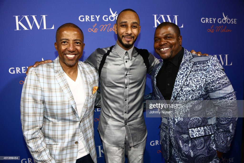 GREY GOOSE Le Melon Toasts Musician Swizz Beatz With Art Commissioned By Award Winning Artist Kehinde Wiley Hosted By Kevin Liles At The KWL Experience