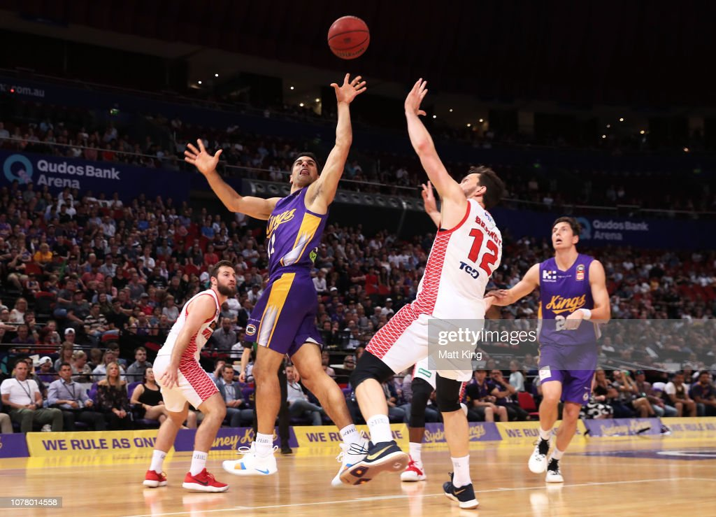 NBL Rd 8 - Sydney v Perth : News Photo