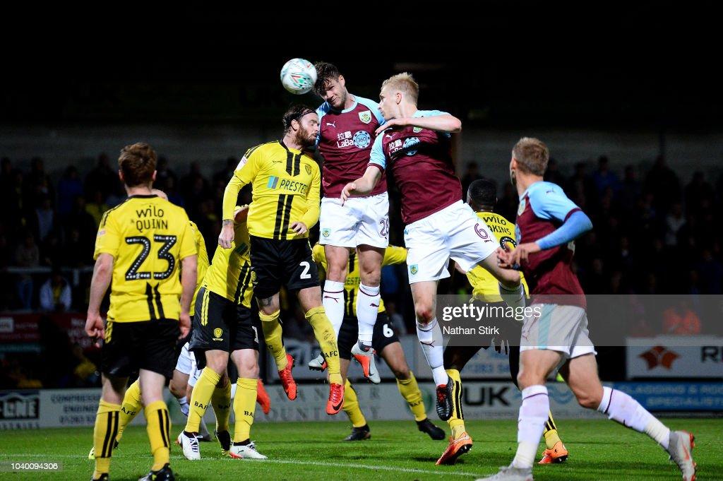 Burton Albion v Burnley - Carabao Cup Third Round : News Photo