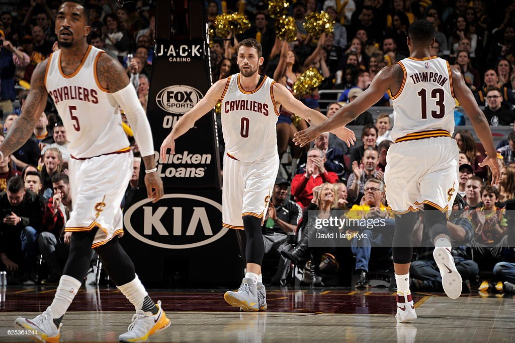 Portland Trail Blazers v Cleveland Cavaliers : News Photo
