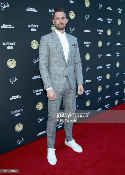 Kevin Love attends SI Fashionable 50 Event on July 12 2018 in Los Angeles California