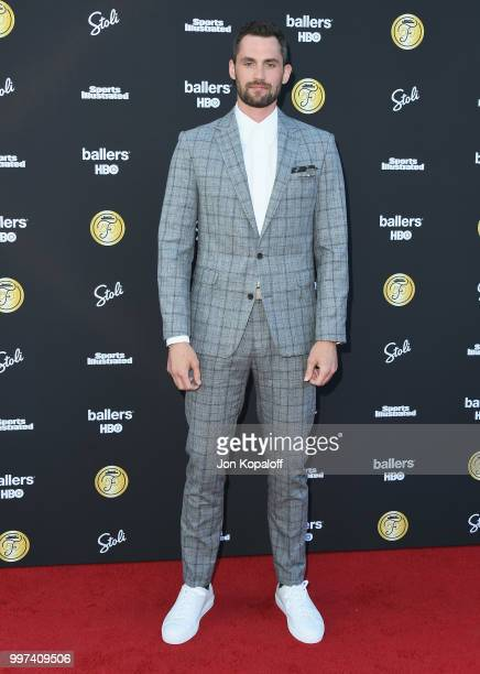 Kevin Love attends Sports Illustrated Fashionable 50 at HYDE Sunset Kitchen Cocktails on July 12 2018 in West Hollywood California
