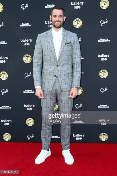 Kevin Love attends the Sports Illustrated Fashionable 50 on July 12 2018 in West Hollywood California
