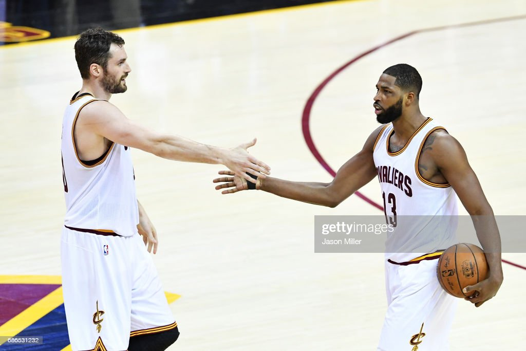 Boston Celtics v Cleveland Cavaliers - Game Three : News Photo