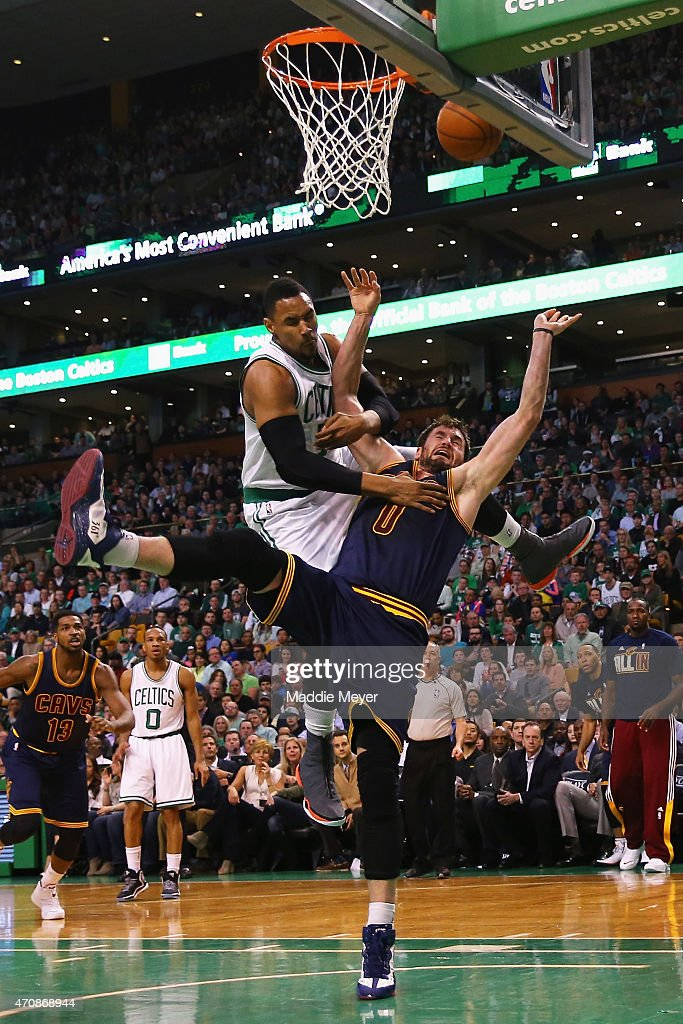 Cleveland Cavaliers v Boston Celtics - Game Three