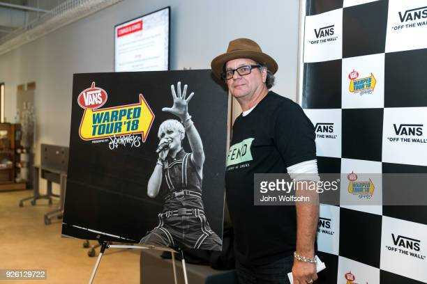 Kevin Lyman creator of the Van Warped Tour attends 2018 Vans Warped Tour Kick Off Event press conference at Vans Global HQ on March 1, 2018 in Costa...