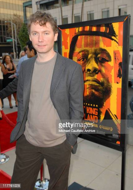 Kevin Macdonald director during Fox Searchlight Pictures Presents the Los Angeles Premiere of The Last King of Scotland at Academy of Motion Picture...