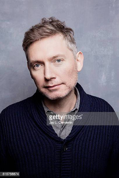 Kevin Macdonald from the film 'Sky Ladder The Art of Cai GuoQiang' pose for a portrait at the 2016 Sundance Film Festival on January 22 2016 in Park...