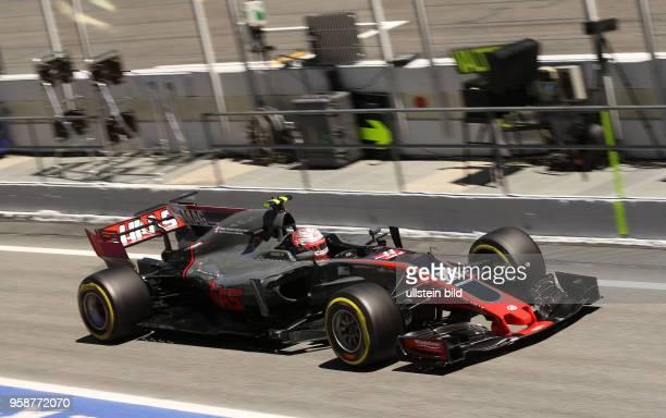 Kevin Magnussen, Haas, F1 Team, formula 1 GP, Spanien in Barcelona