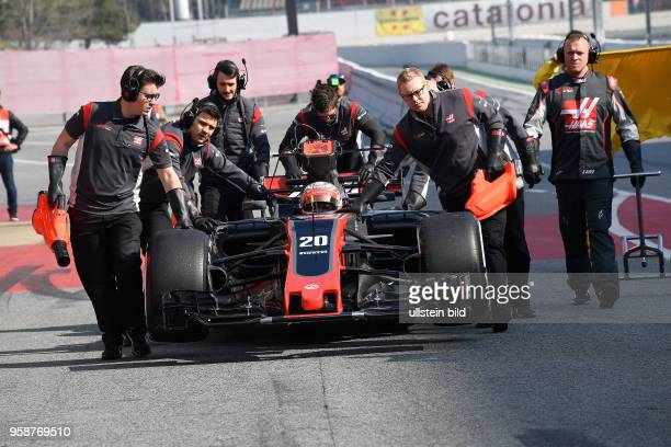 Kevin Magnussen, Haas, F1 Team, formula 1 GP, Test Barcelona, Spanien,