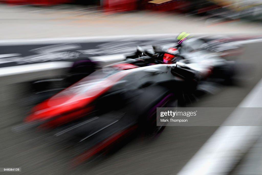 F1 Grand Prix of China - Qualifying : News Photo