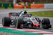 montmelo spain kevin magnussen denmark driving