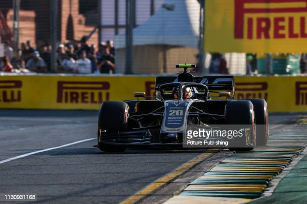Kevin MAGNUSSEN of Rich Energy Haas F1 Team during qualifying on day 3 of the 2019 Formula 1 Australian Grand Prix