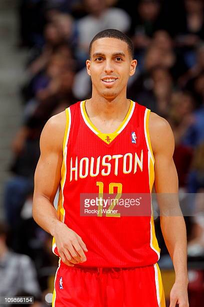 Kevin Martin of the Houston Rockets gets ready to take on the Sacramento Kings on March 7 2011 at Power Balance Pavilion in Sacramento California...