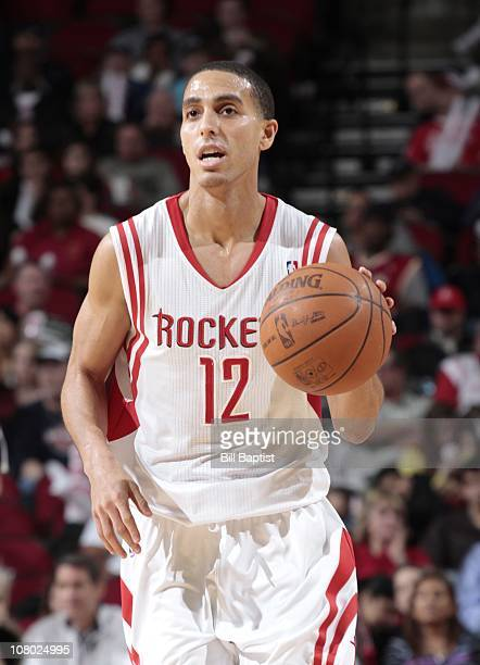 Kevin Martin of the Houston Rockets handles the ball during a game against the Utah Jazz on January 8 2011 at the Toyota Center in Houston Texas NOTE...
