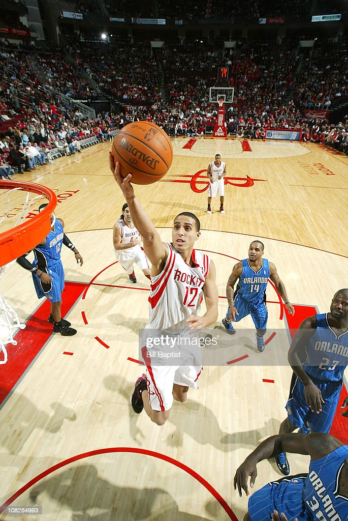 Kevin Martin #12 of the Houston Rockets shoots the ball against the Orlando Magic on January 22, 2011 at the Toyota Center in Houston, Texas.