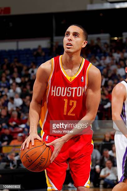 Kevin Martin of the Houston Rockets shoots the ball against the Sacramento Kings on March 7 2011 at Power Balance Pavilion in Sacramento California...