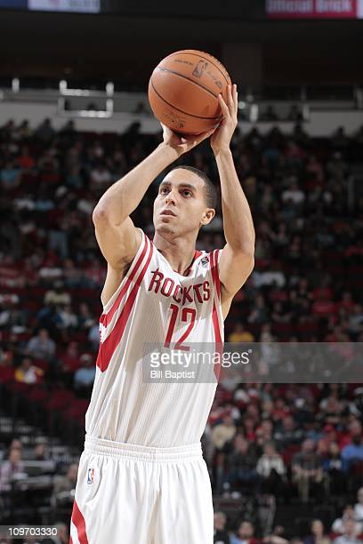 Kevin Martin of the Houston Rockets shoots the ball during a game against the New Jersey Nets on February 26 2011 at the Toyota Center in Houston...