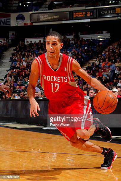 Kevin Martin of the Houston Rockets takes the ball to the basket against the Sacramento Kings on December 19 2010 at ARCO Arena in Sacramento...