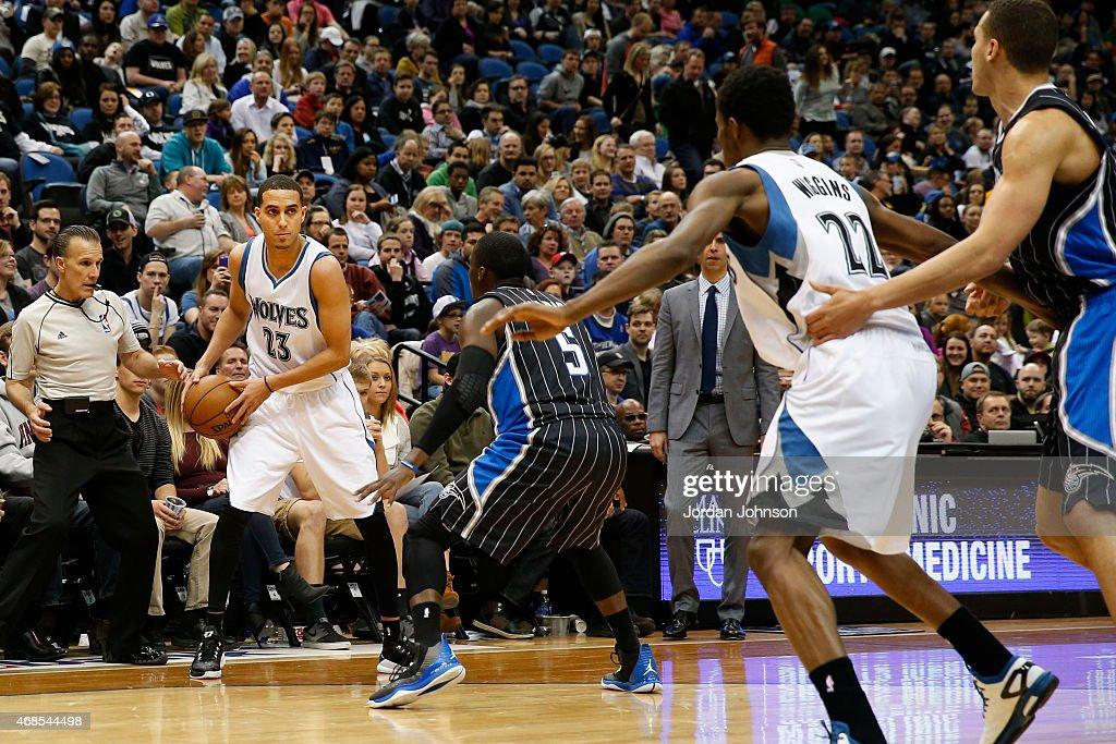 Orlando Magic v Minnesota Timberwolves : News Photo
