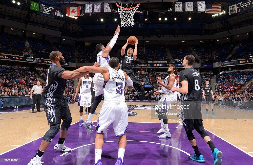 Minnesota Timberwolves v Sacramento Kings : News Photo