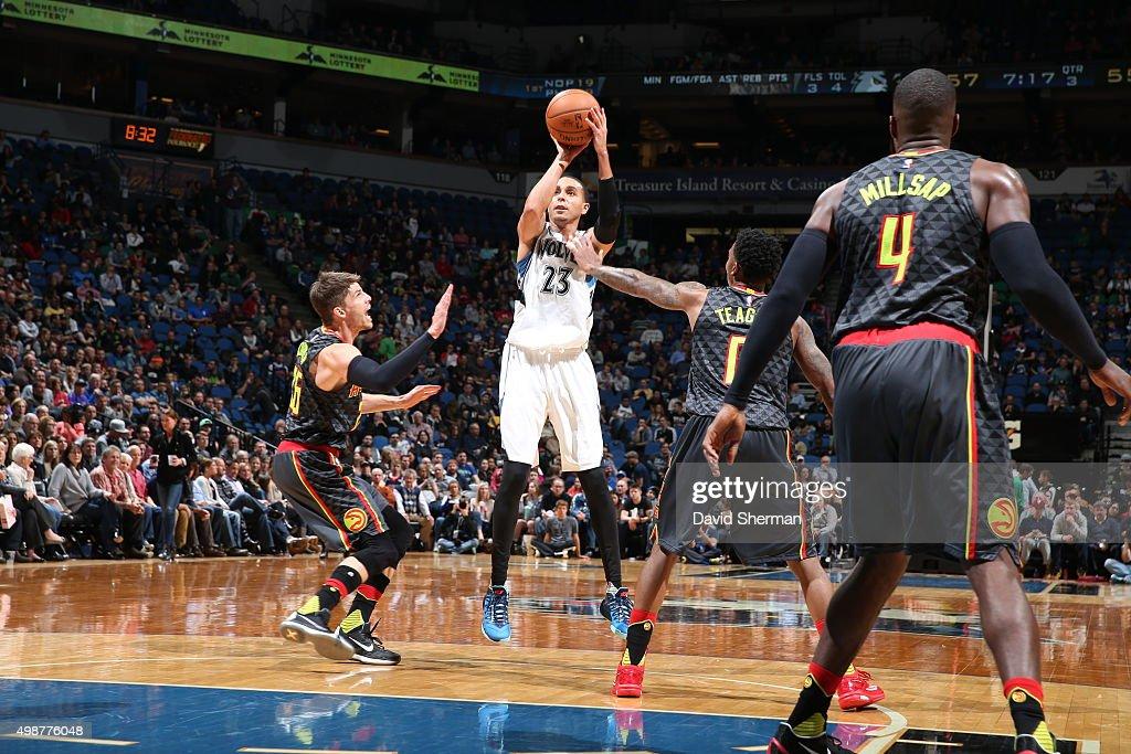 Atlanta Hawks v Minnesota Timberwolves : News Photo