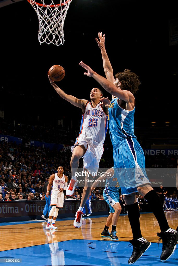 New Orleans Hornets v Oklahoma City Thunder