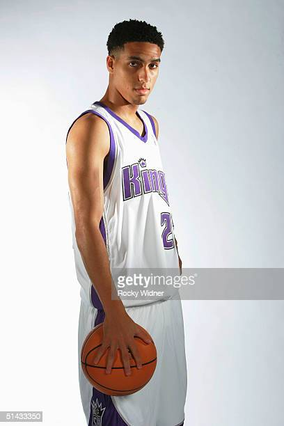 Kevin Martin of the Sacramento Kings poses during the Kings Media Day on October 1 2004 at Arco Arena in Sacramento California NOTE TO USER User...