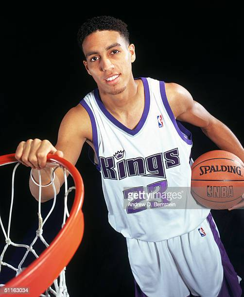 Kevin Martin of the Sacramento Kings poses for a portrait during the 2004 NBA Rookie Shoot at Madison Square Garden Training Facility on August 2...