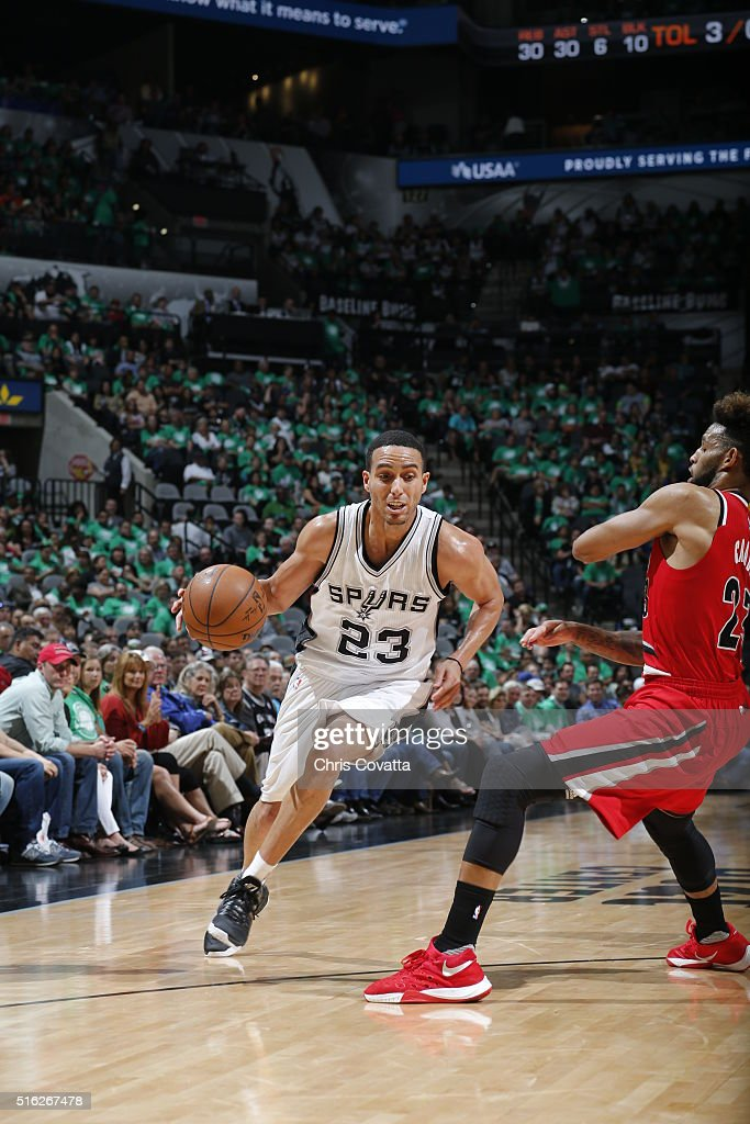 Portland Trail Blazers v San Antonio Spurs : News Photo