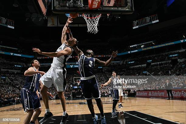 Kevin Martin of the San Antonio Spurs shoots the ball against the Oklahoma City Thunderin Game One of Western Conference Semifinals of the 2016 NBA...