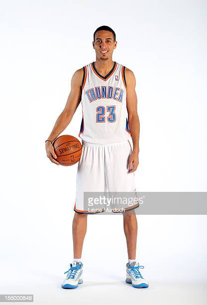 Kevin Martin poses for a portrait on October 29 2012 at the Thunder Events Center in Edmond Oklahoma NOTE TO USER User expressly acknowledges and...