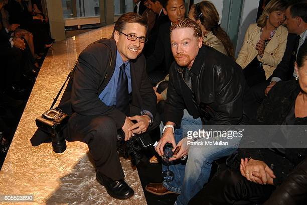 Kevin Mazur and Axel Rose attend DIOR 2007 Cruise Collection Dinner Party hosted by Bernard Arnault and Sidney Toledano at The Four Seasons...